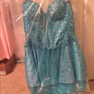 Blue Homecoming or Formal Dress